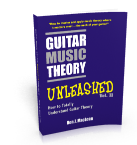 Guitar Music Theory Unleashed: How to Totally Understand Guitar Theory Volume 2