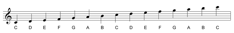 how to read ledger lines